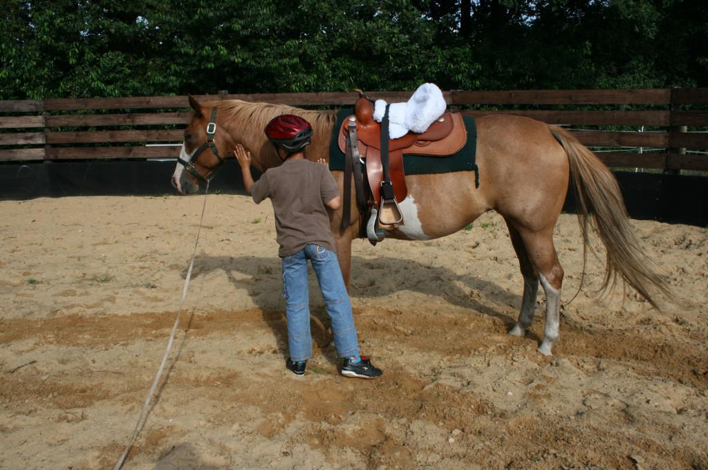 Ergotherapie mit Pferd für Kinder