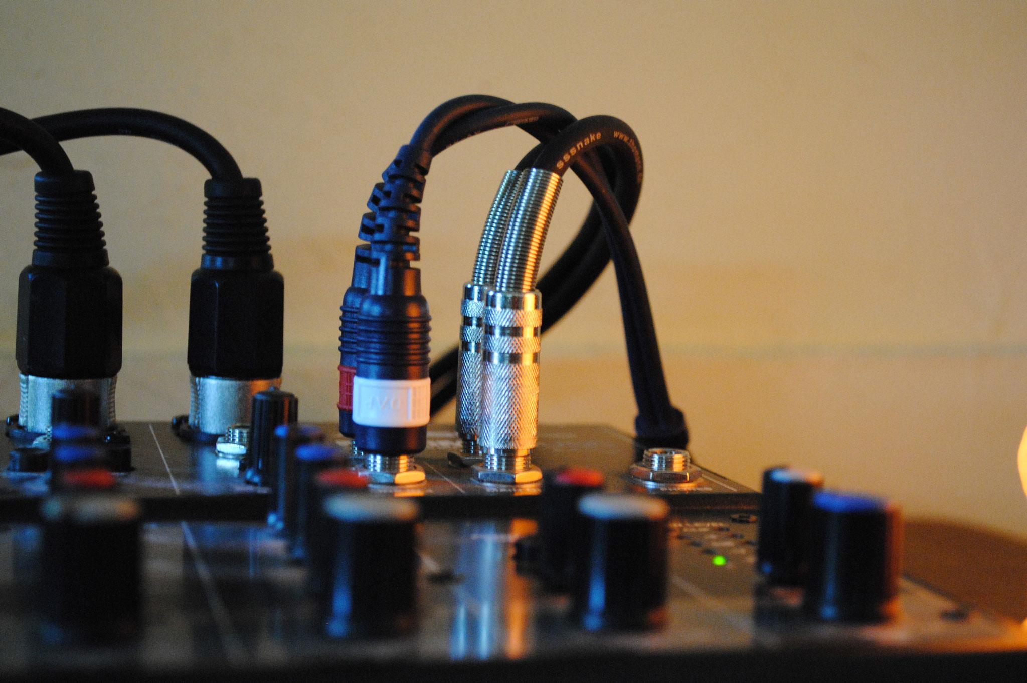 Musik in der Ergotherapie Mischpult